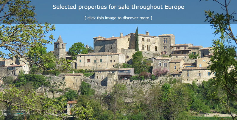 Properties for sale in Europe